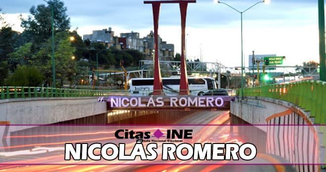INE Nicolás Romero teléfonos y direcciones