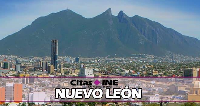 INE Nuevo León teléfonos y direcciones
