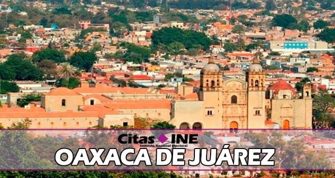 INE Oaxaca de Juárez teléfonos y direcciones
