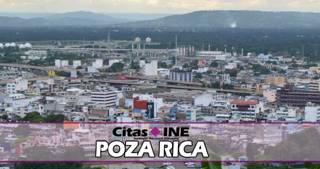 INE Poza Rica teléfonos y direcciones