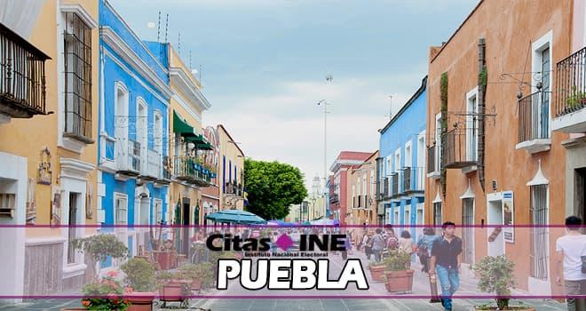 INE Puebla teléfonos y direcciones