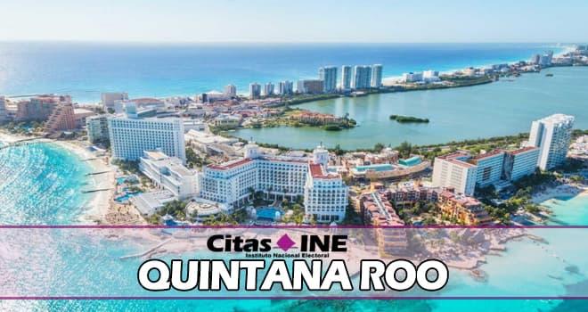 INE Quintana Roo teléfonos y direcciones
