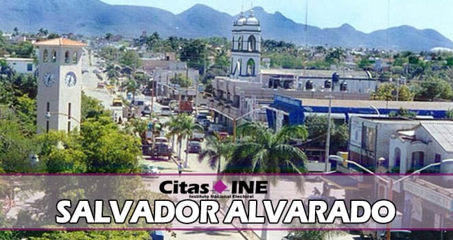 INE Salvador Alvarado teléfonos y direcciones