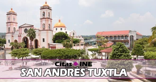 INE San Andrés Tuxtla teléfonos y direcciones