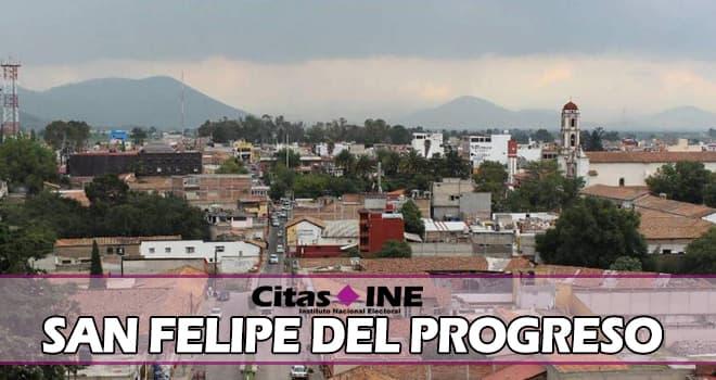 INE San Felipe del Progreso teléfonos y direcciones