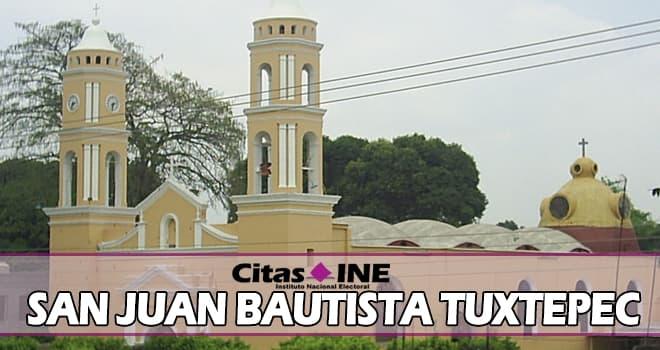 INE San Juan Bautista Tuxtepec teléfonos y direcciones