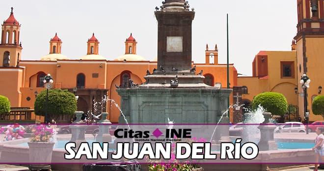 INE San Juan del Río teléfonos y direcciones