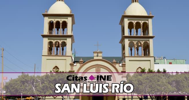 INE San Luis Río teléfonos y direcciones