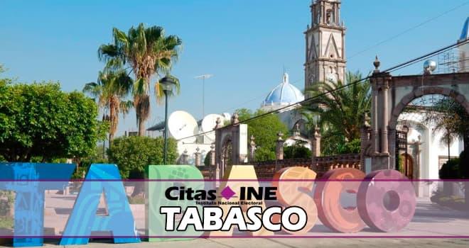 INE Tabasco teléfonos y direcciones