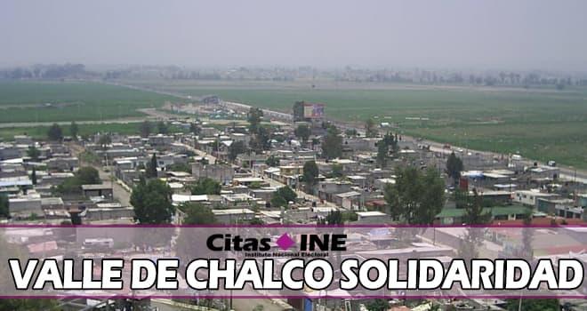 INE Valle de Chalco Solidaridad teléfonos y direcciones