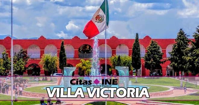 INE Villa Victoria teléfonos y direcciones