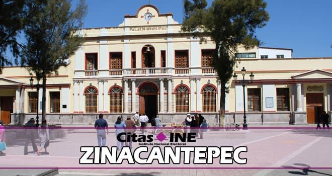 INE Zinacantepec teléfonos y direcciones