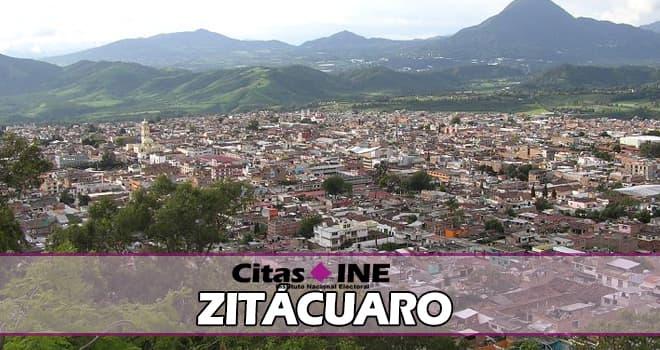 INE Zitácuaro teléfonos y direcciones